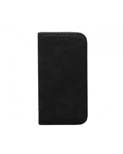 Black Slim Book Type Cover For iPhone 8 / 7