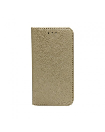 Gold Slim Book Type Cover For iPhone 8 / 7