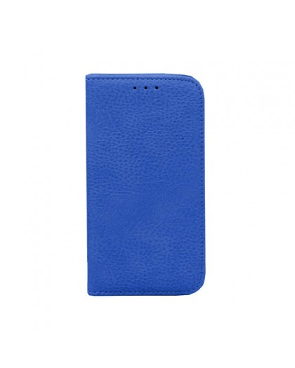 Blue Slim Bookcase Cover For iPhone 8 / 7