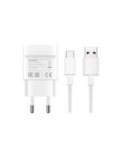 Huawei Quick Charge Oplader + USB-C 1M Kabel