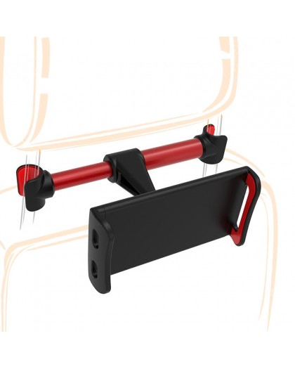 360 Degree Rotatable Headrest Holder For Smartphone / Tablet