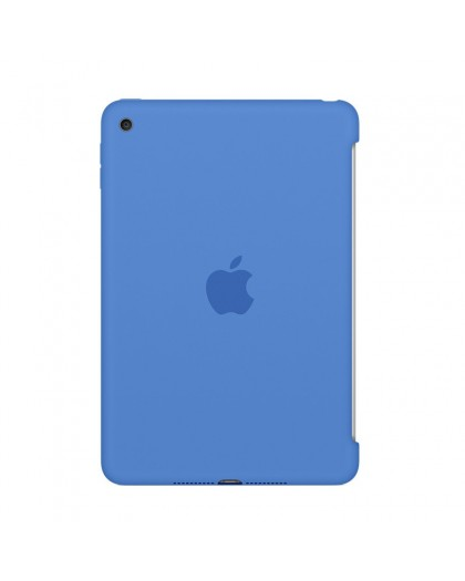 Apple iPad mini 4 Siliconenhoes - Blauw