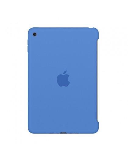 Apple iPad mini 4 Siliconenhoes - Blauw
