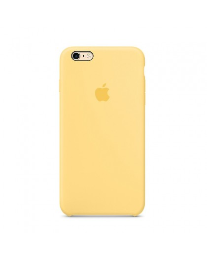Apple iPhone 6 Plus/6S Plus Silicone Case - Yellow