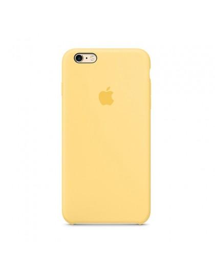 Apple iPhone 6 Plus/6S Plus Silikonhülle - Gelb