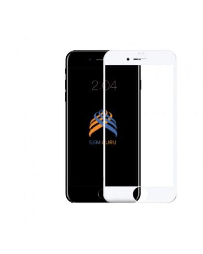 5D Weiss Gehärtetes Glas iPhone 6 Plus / 6S Plus Displayschutzfolie