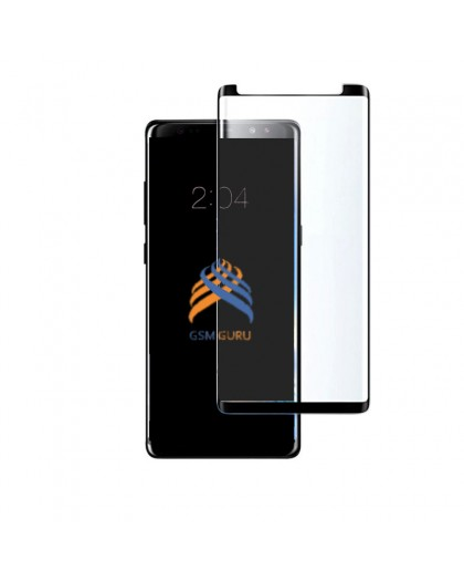 Tempered Glass Full Glue Black Screen Protector Samsung Galaxy Note 8