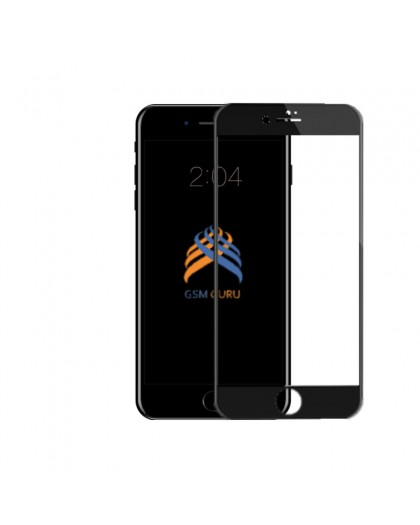 5D Schwarz Gehärtetes Glas Displayschutzfolie Für Das iPhone 7 / 8 Plus