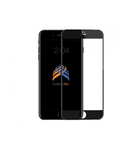 5D Schwarz Gehärtetes Glas iPhone 6 Plus / 6S Plus Displayschutzfolie