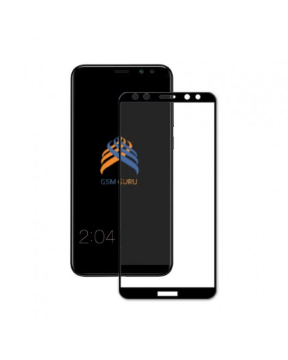 Gehard Glas Full Glue Zwart Screenprotector Huawei Mate 10 Lite