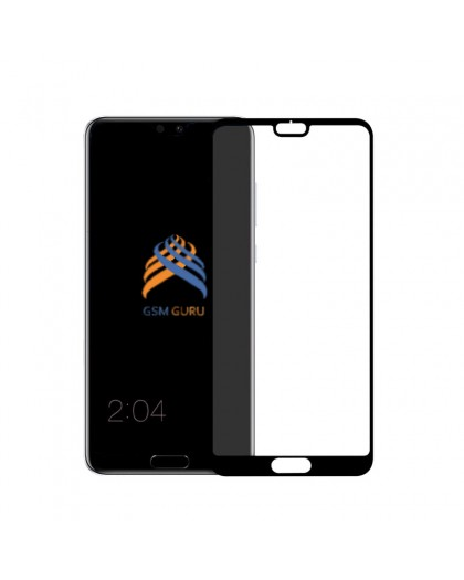 Tempered Glass Full Glue Black Screen Protector Huawei P20