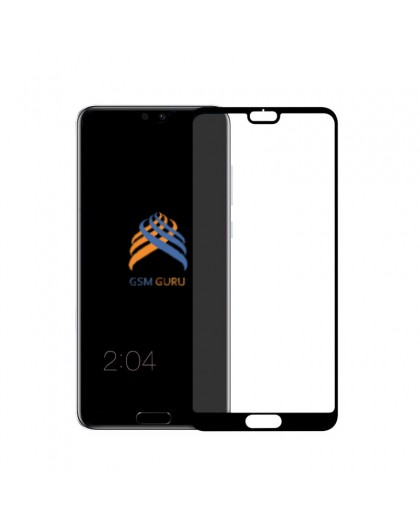 Tempered Glass Full Glue Black Screen Protector Huawei P20 Lite