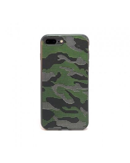 Dot Design Tarnung Silikonhülle iPhone 8 Plus / 7 Plus