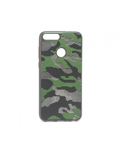 Dot Design Camouflage Siliconen Hoesje Huawei P Smart