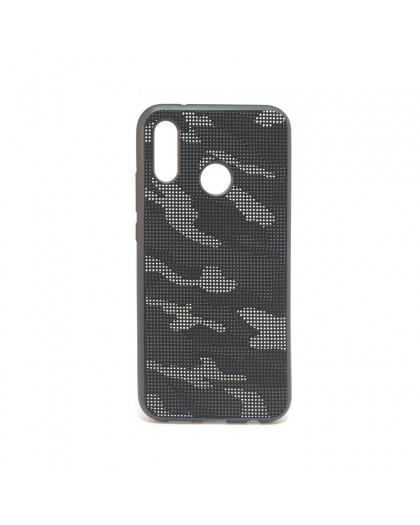 Dot Design Camouflage Siliconen Hoesje Huawei P20 Lite