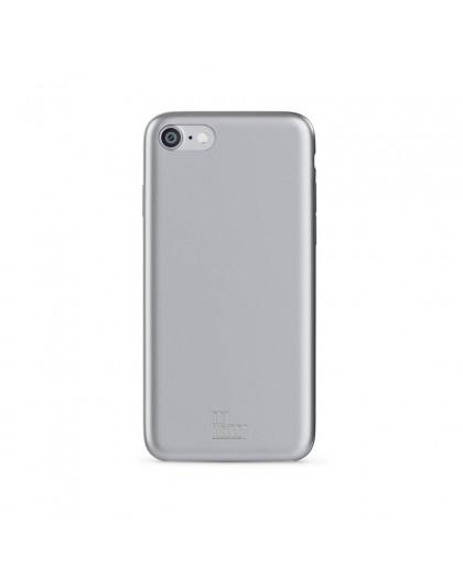 BeHello iPhone 8/7/6S/6 Soft Touch Gel Case Silver