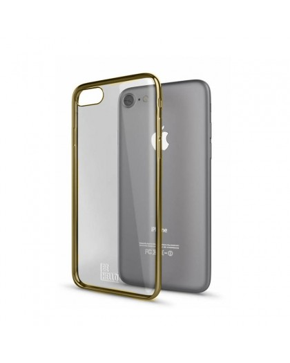 BeHello - Gel Case Gold Edge iPhone 8/7