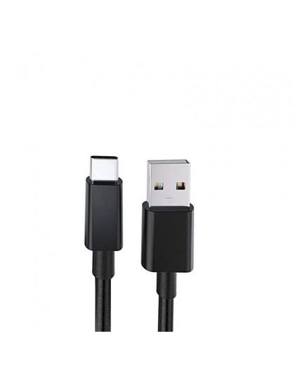 Stevige USB Type-C naar USB-Kabel 2 Meter - Zwart