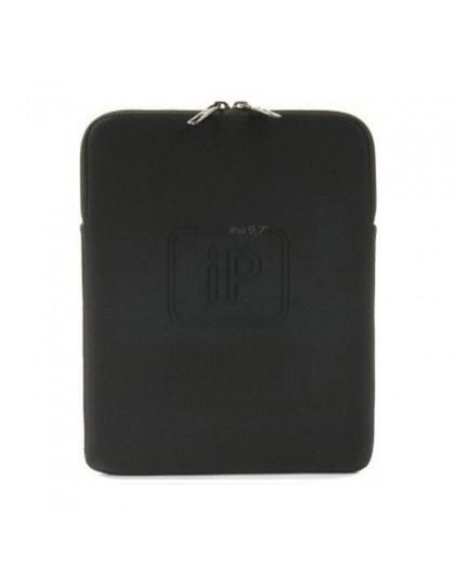 Tucano Second Skin Elements Sleeve voor iPad 9.7 - Zwart