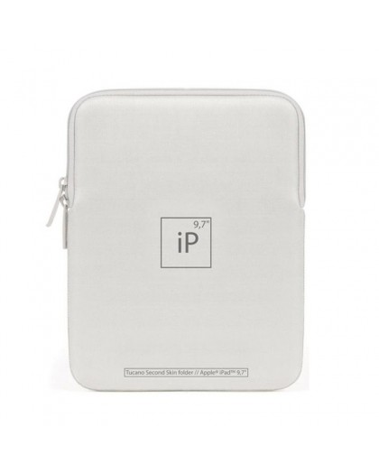 Tucano Second Skin Elements Sleeve for iPad 9.7 - Silver