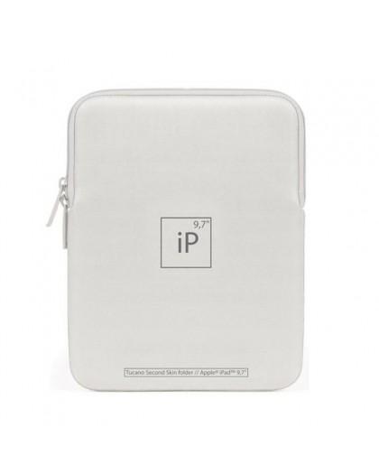 Tucano Second Skin Elements Sleeve voor iPad 9.7 - Zilver