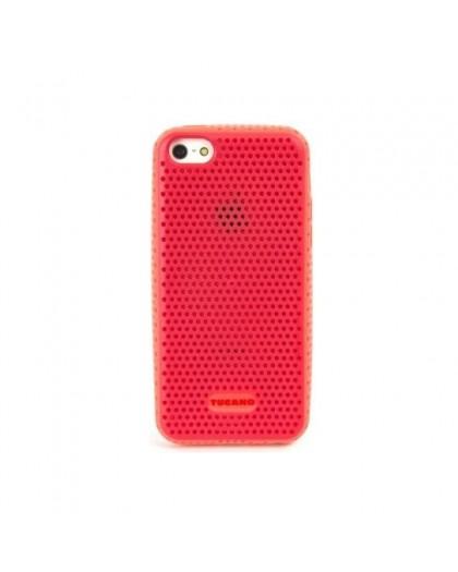 Tucano Trama Bicolor iPhone 5C TPU Hoesje Rood - Roze