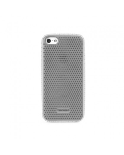 Tucano Trama Bicolor iPhone 5C TPU Case  White - Grey