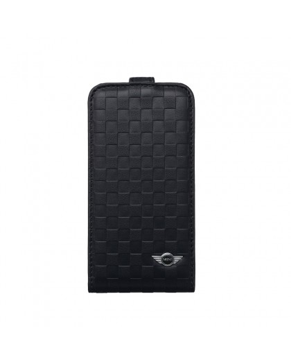 Mini Cooper Black Flip Cover iPhone SE/5s/5