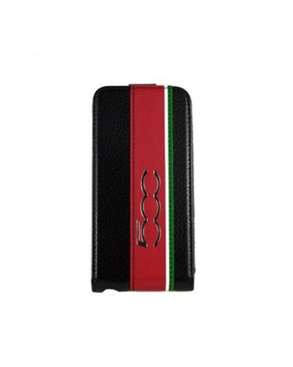 Fiat 500 Schwarz Flip Case iPhone SE/5s/5