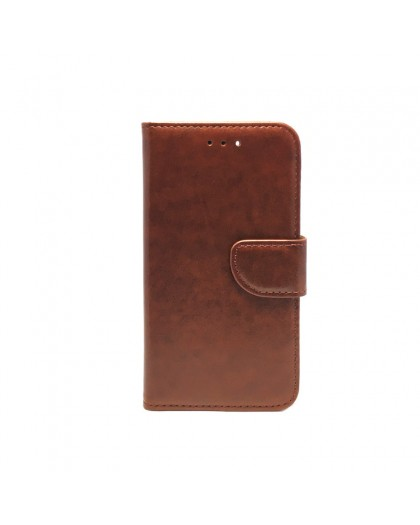 Brown Wallet Case For iPhone 8 / 7