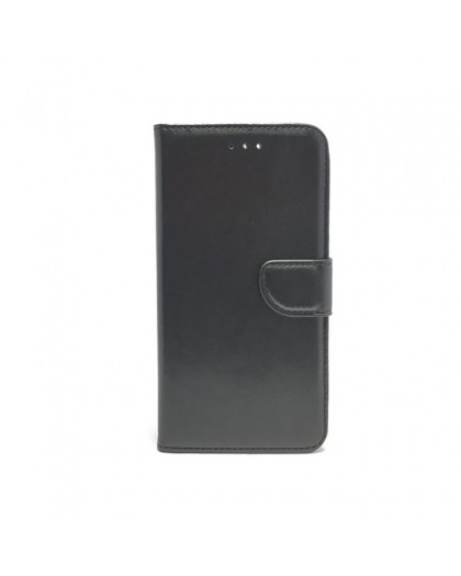 Black Wallet Case For iPhone 8 Plus / 7 Plus