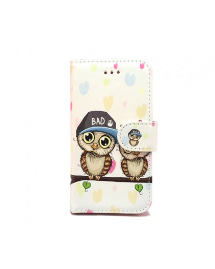 Wallet Case Owl Print iPhone SE/5S/5