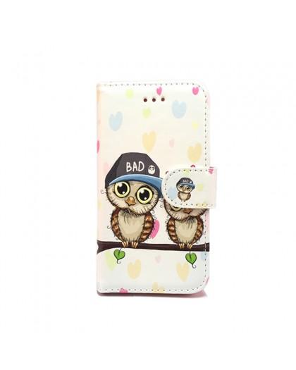 Wallet Case Owl Print iPhone SE/5S/5