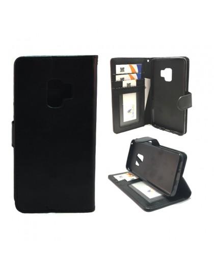 Classic Black Bookcase Samsung Galaxy S9