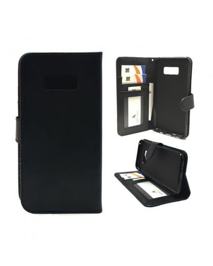 Classic Black Bookcase Samsung Galaxy S8 Plus