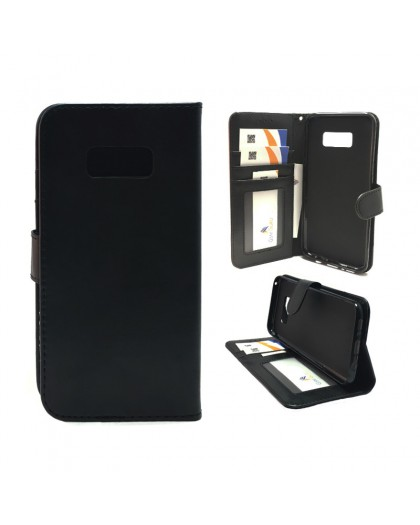 Classic Zwart Booktype Hoesje Samsung Galaxy S8 Plus