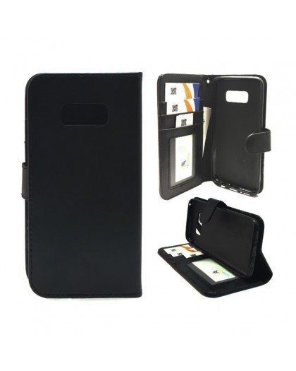 Classic Black Bookcase Samsung Galaxy S8