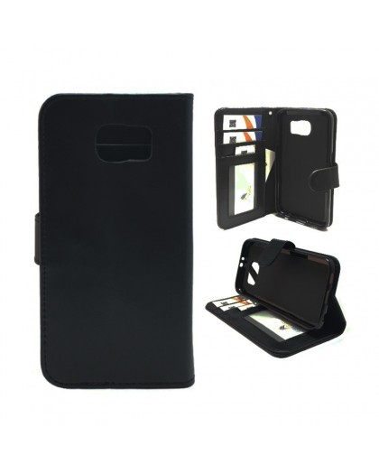 Classic Black Bookcase Samsung Galaxy S6