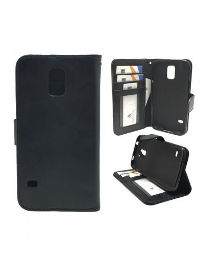 Classic Black Bookcase Samsung Galaxy S5