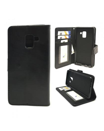 Classic Black Bookcase Samsung Galaxy A8 2018
