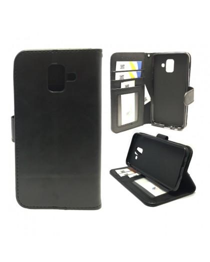 Classic Black Bookcase Samsung Galaxy A6 (2018)
