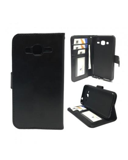 Classic Black Bookcase Samsung Galaxy J3 2016