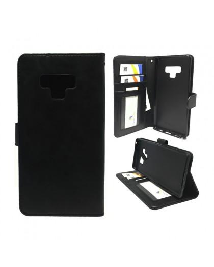 Classic Schwarzes Booktype Hülle Samsung Galaxy Note 9