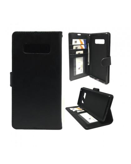 Classic Zwart Booktype Hoesje Samsung Note 8