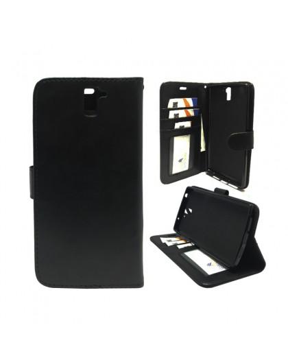 Classic Zwart Booktype Hoesje OnePlus 1