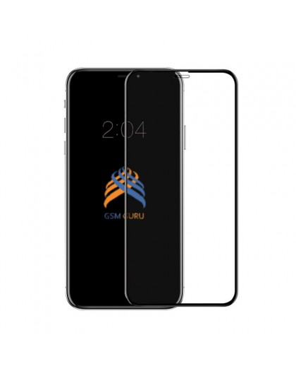 5D Black Tempered Glass Screen Protector For iPhone XR