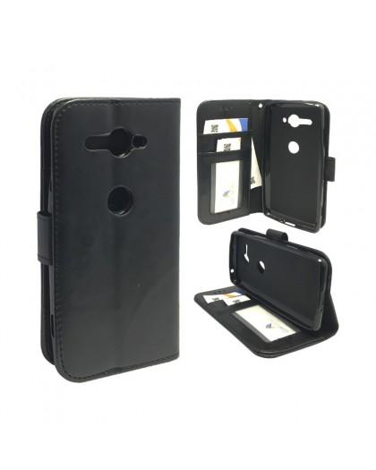 Classic Black Bookcase Sony Xperia XZ2 Compact