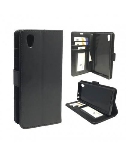 Classic Black Bookcase Sony Xperia XA1