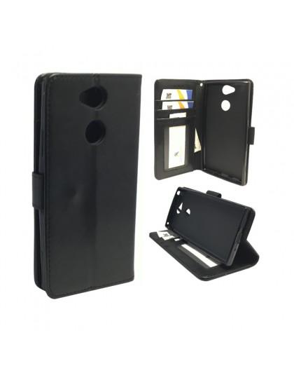 Classic Black Bookcase Sony Xperia XA2