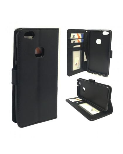 Classic Black Bookcase Huawei P10 Lite